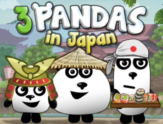3 Panda Japonyada