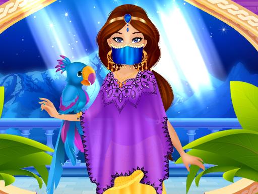 Arap Prenses Giydirme