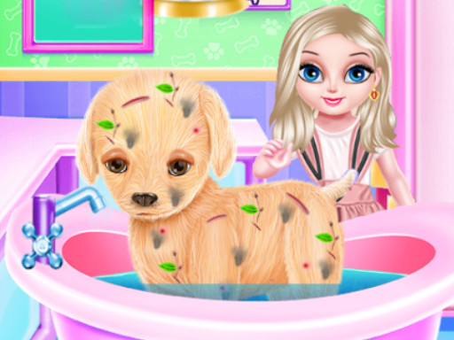 Elsa Yavru Köpek Yıkama