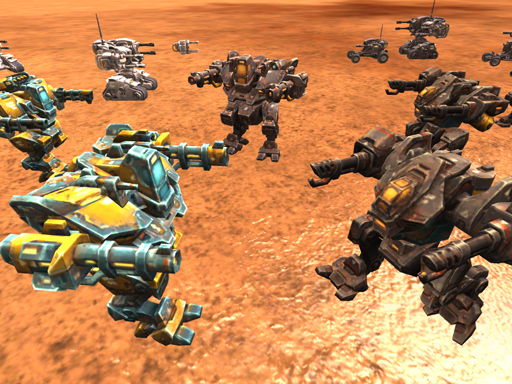 Mekanik Robot Savaşı