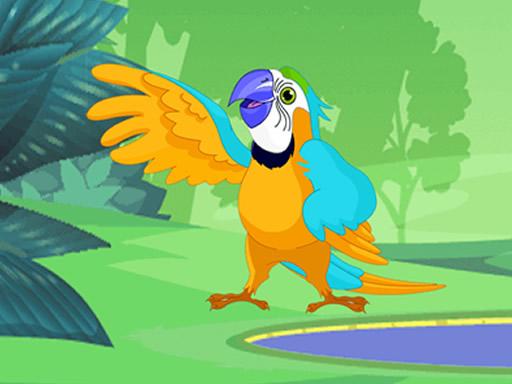 Papagan Boyama Oyunu Boyama Oyunlari
