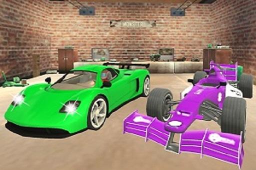 Süper Araba Hız Yarışı