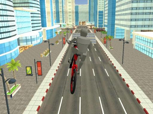 Şehirde Bisiklet Sürme