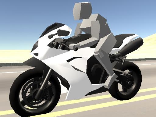 Süper Motosiklet Sürüşü