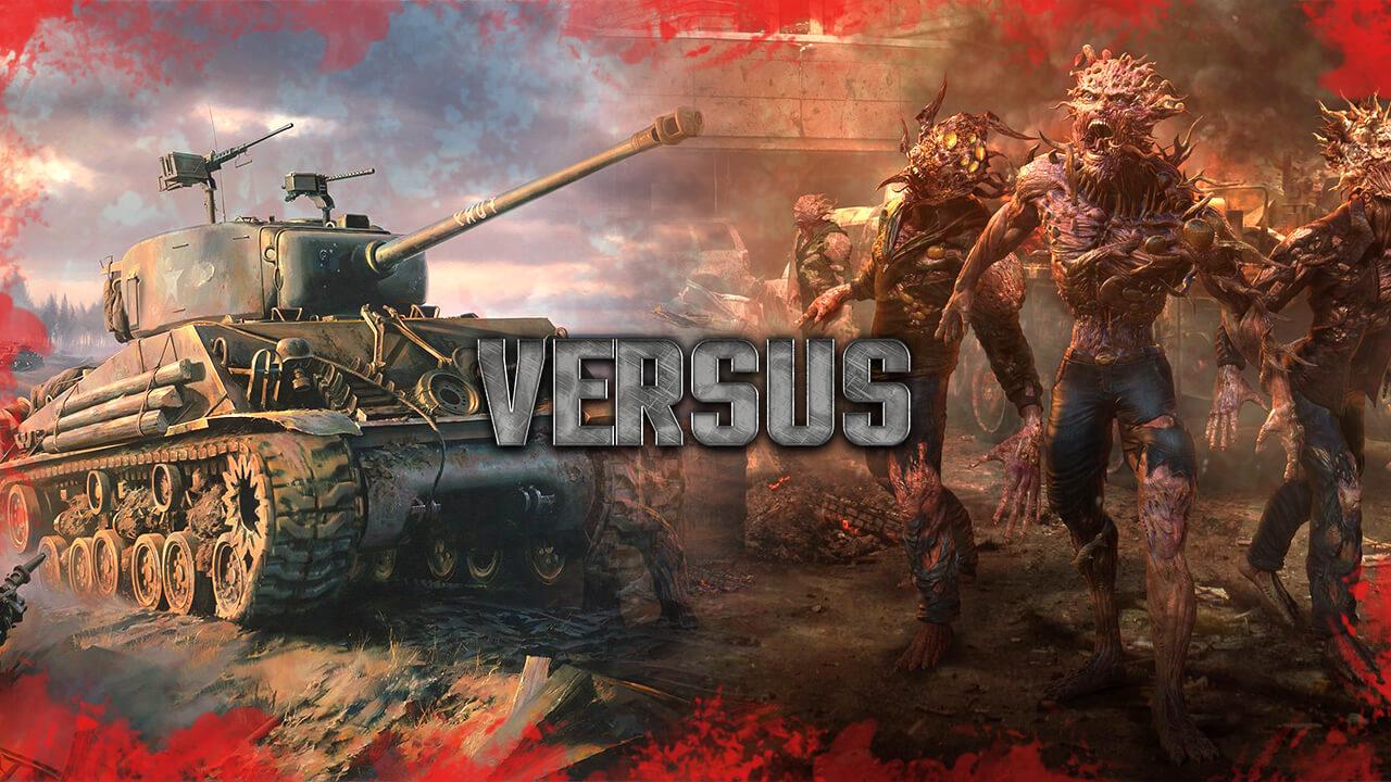 Tank vs Zombi