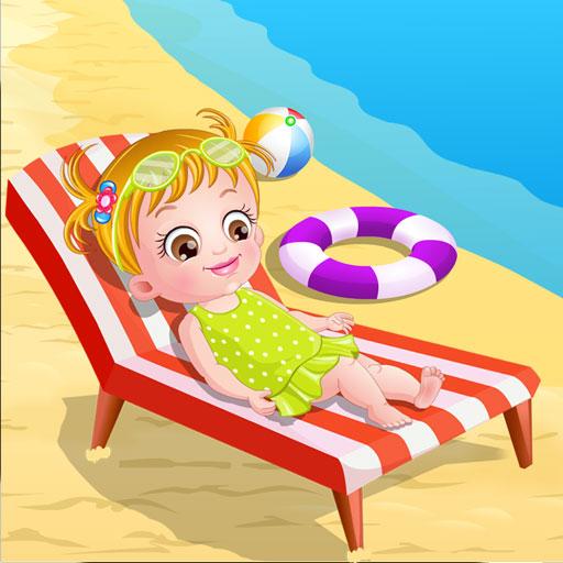 Bebeğin Plaj Macerası