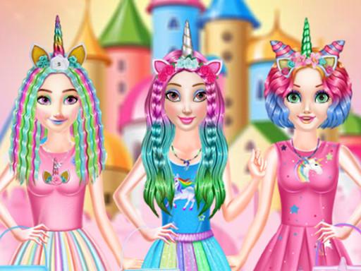 Prenseslerin Gökkuşağı Saçları