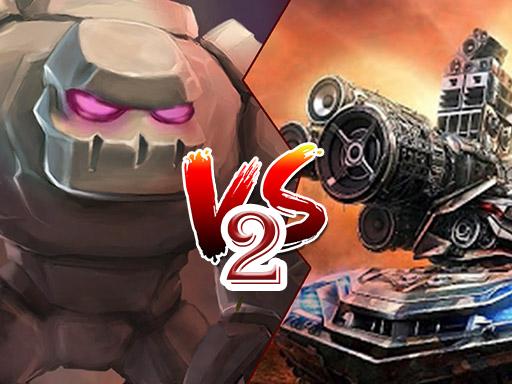 Tank vs Golem 2