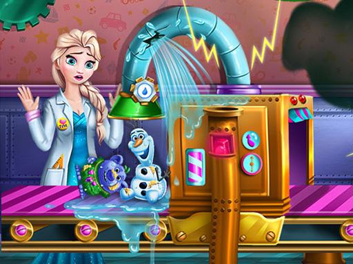 Buz Prensesin Oyuncak Fabrikası