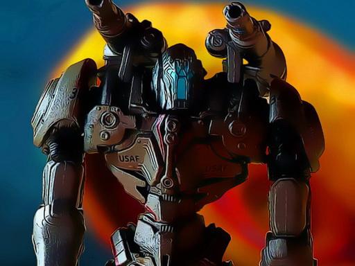 Metal Robot Yapbozu
