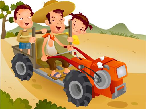 Oyuncak Traktör Yapbozu