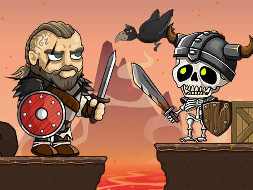 Vikingler vs İskeletler