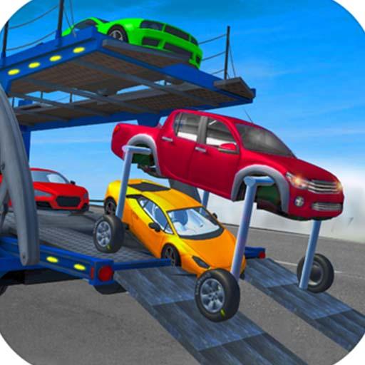 Araba Taşıma Kamyonu 3D