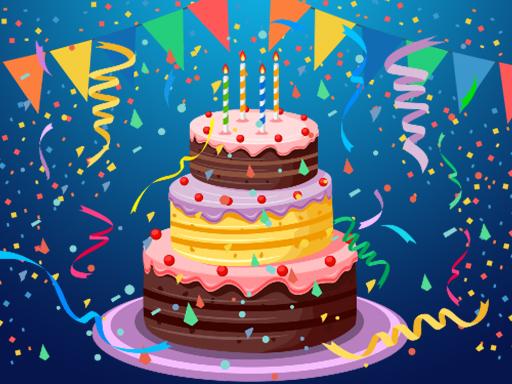 Doğum Günü Pastası Yapbozu