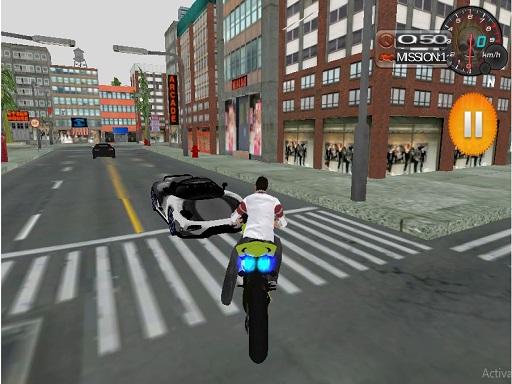 Motosiklet Sür ve Park Et