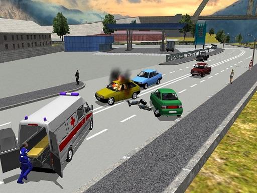 Şehirde Ambulans Kullanma