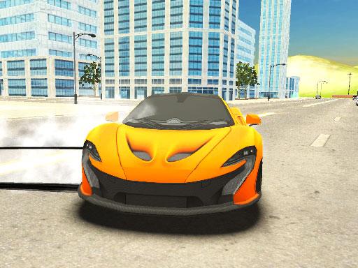 Süper Araba Sürüşü