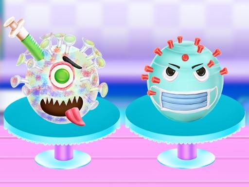 Korona Virüs Pastası