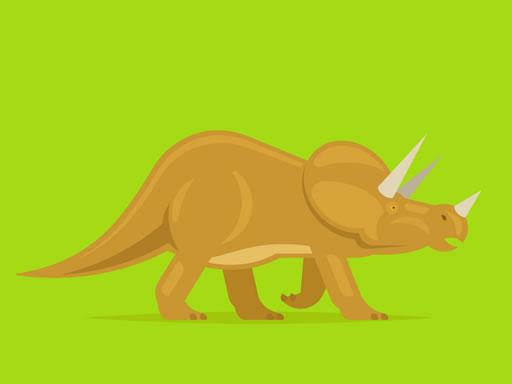 Tatlı Dinozor Boyama