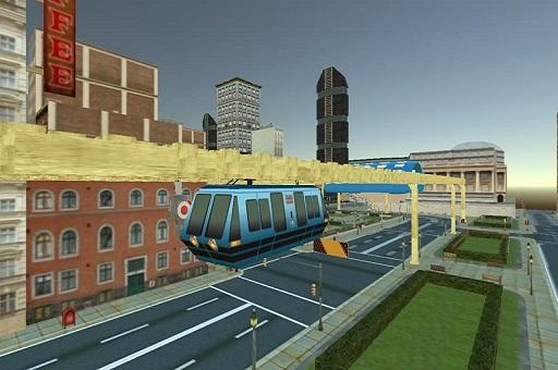Uçan Tren Simülasyonu