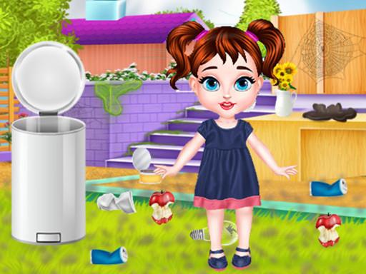 Bebeğin Arka Bahçe Temizliği