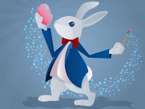 Eğlenceli Tavşan Boyama