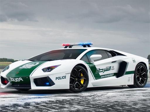 Polis Arabası Yapboz