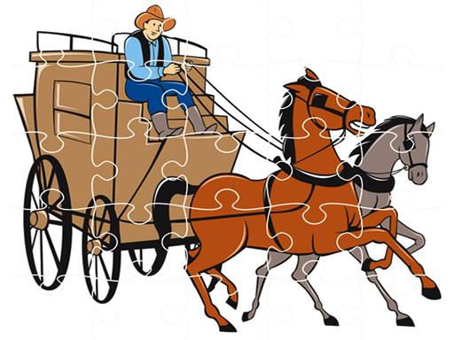 At Arabası Yapbozu