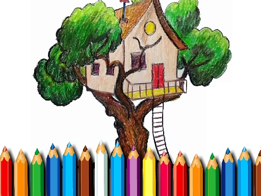Ağaç Ev Boyama