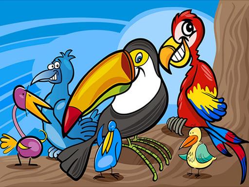 Egzotik Kuş Boyama
