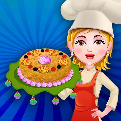 Elmalı Kek Pişirme
