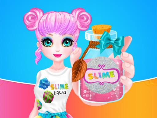 Prensesin Slime Fabrikası