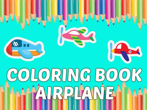 Uçak Boyama Kitabı 2