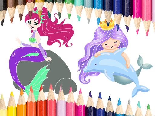 Deniz Kızı Boyama 2