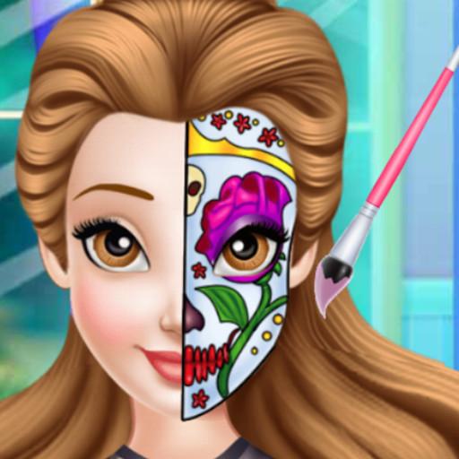 Prenses Yüz Boyama