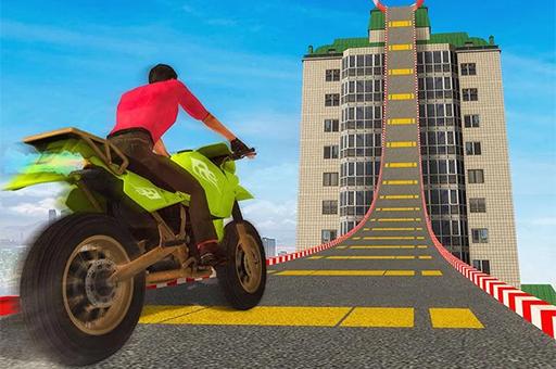 Uçan Motosiklet Parkurları