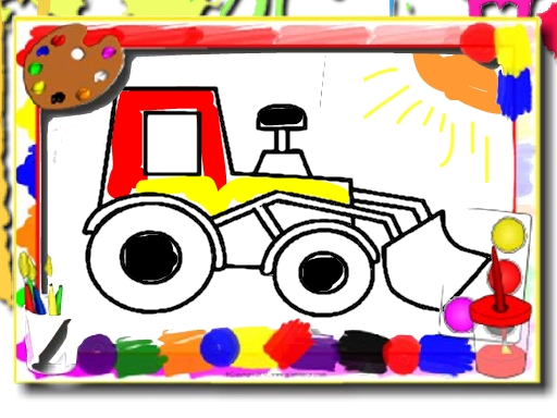 Çocuk Arabalarını Boya