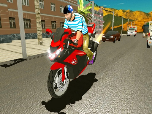 3D Otoyol Motosikleti