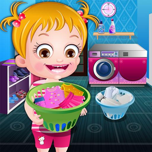 Bebek Hazel Çamaşır Günü