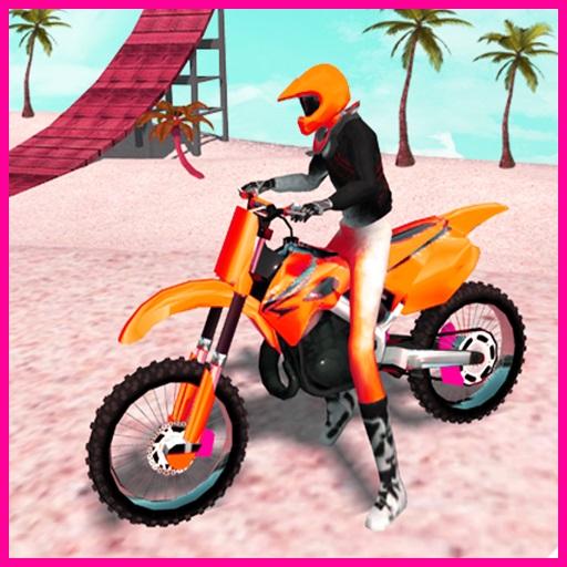 Sahilde Motocross