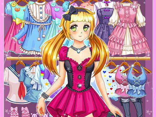 Tatlı Anime Kızı