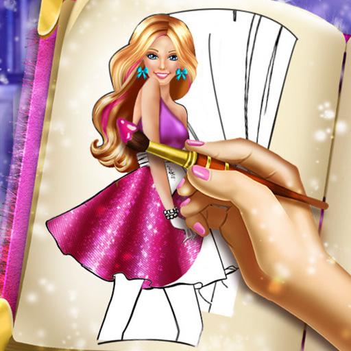 Barbie Bebek Boyama