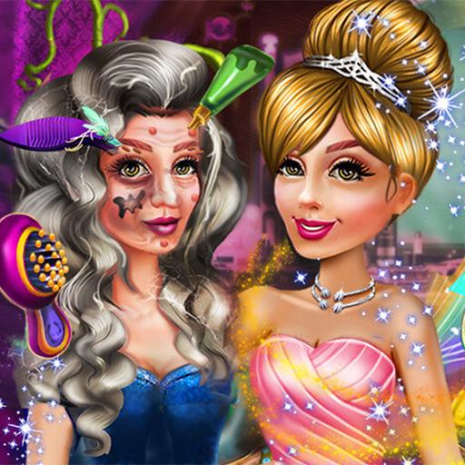 Cadı Prenses Makyajı