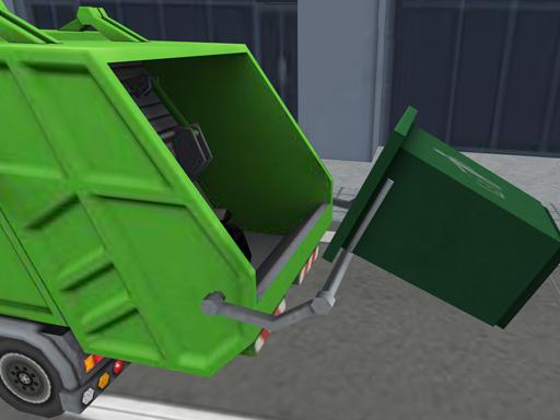 Çöp Kamyonu İstasyonu