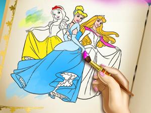 Prenses Boyama Kitabı 2