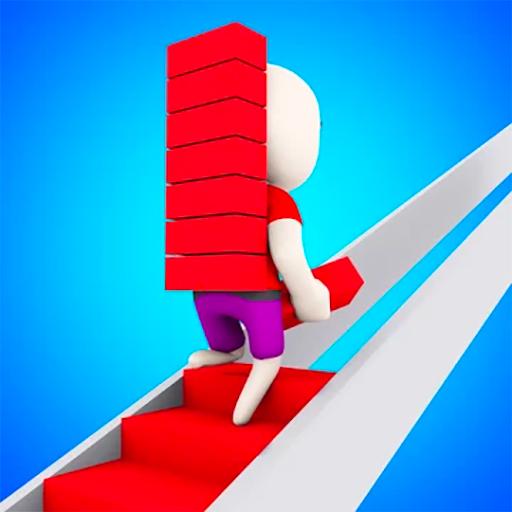 3D Merdiven Koşusu