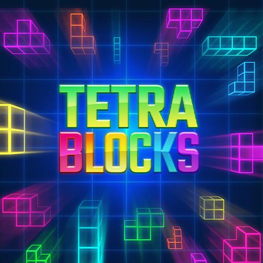Neon Tetris