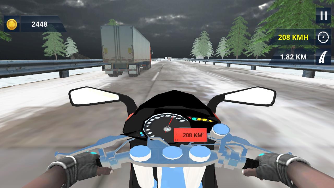 Zorlu Motosiklet Sürüşü
