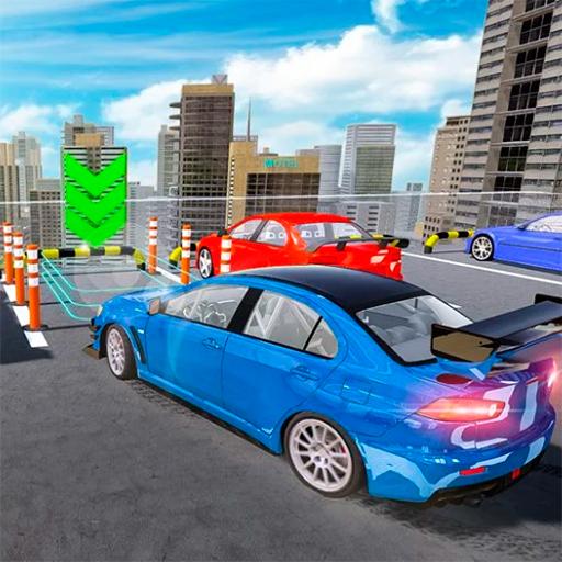 Modern Araba Otoparkı
