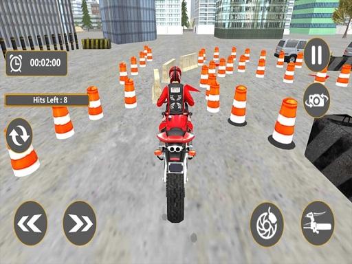 Motosiklet Park Etme 3D
